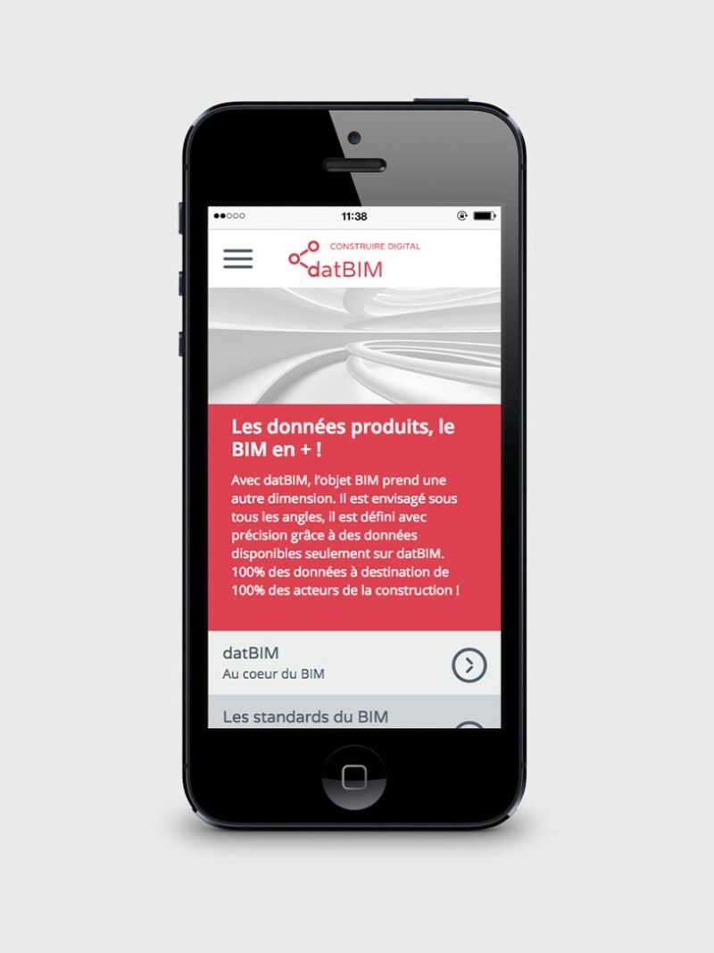 site internet mobile datbim